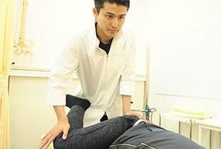 当院での骨盤矯正イメージ
